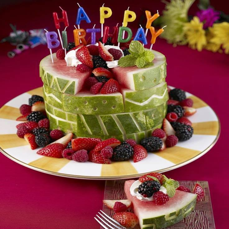 Healthy Low Calorie Birthday Cake